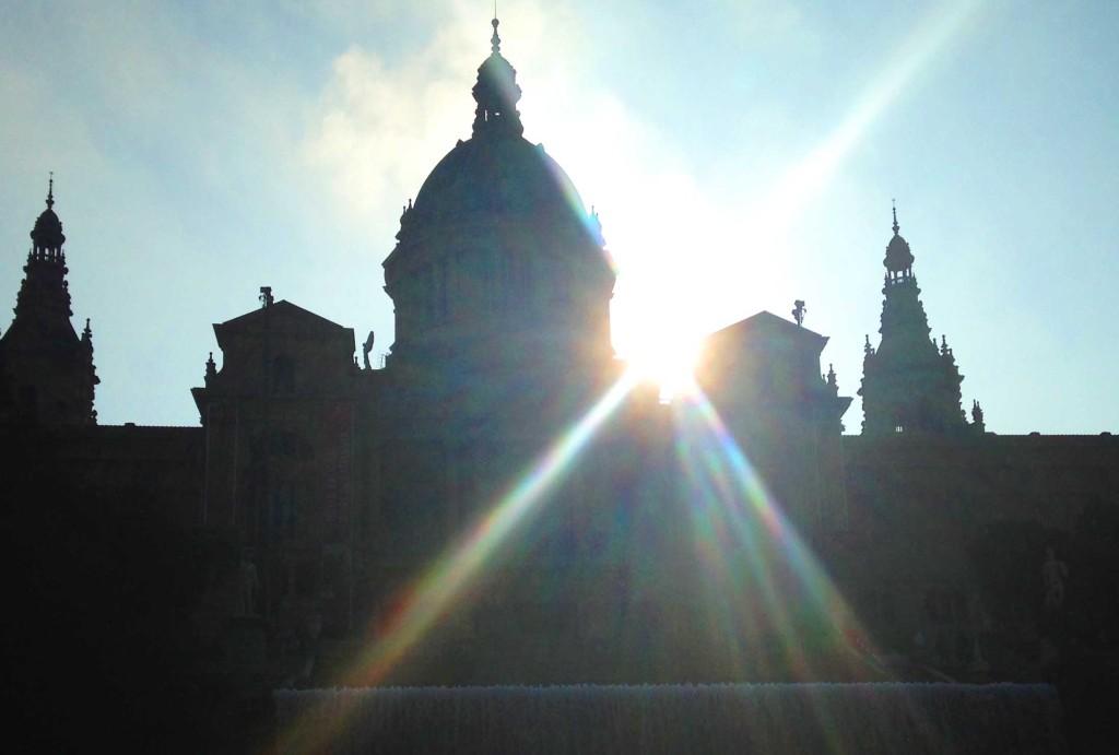 solo travel in spain morning light in seville