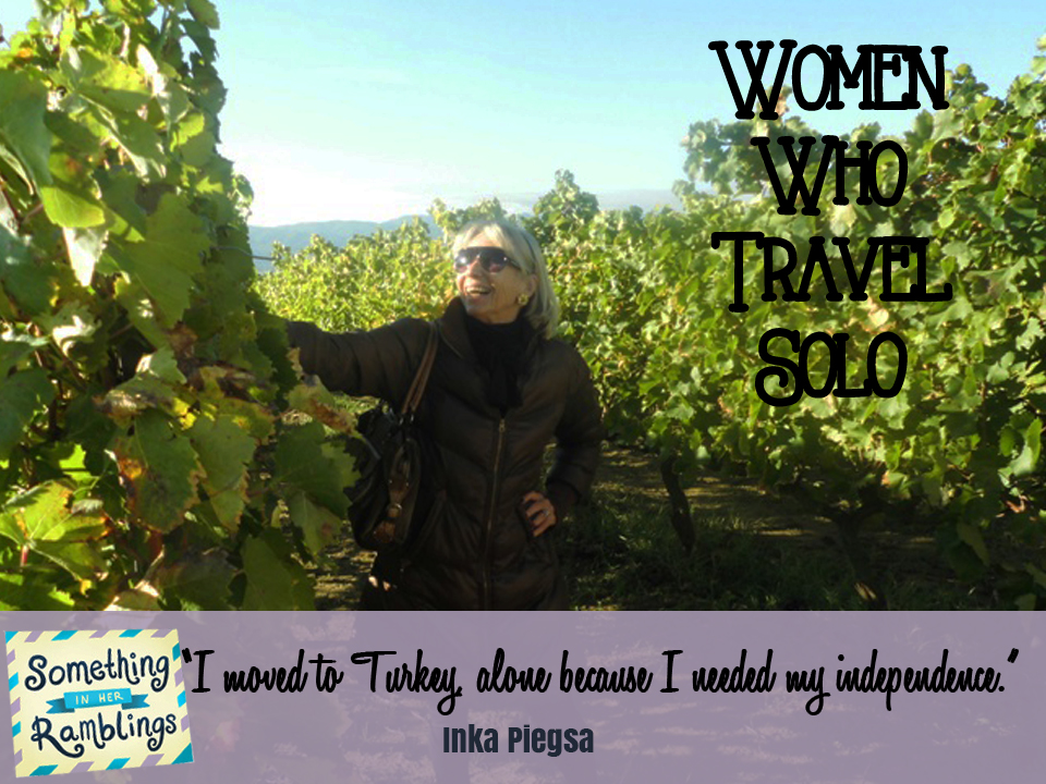 Women Who Travel Solo: Living Abroad in Turkey with Inka Piegsa-Quischotte