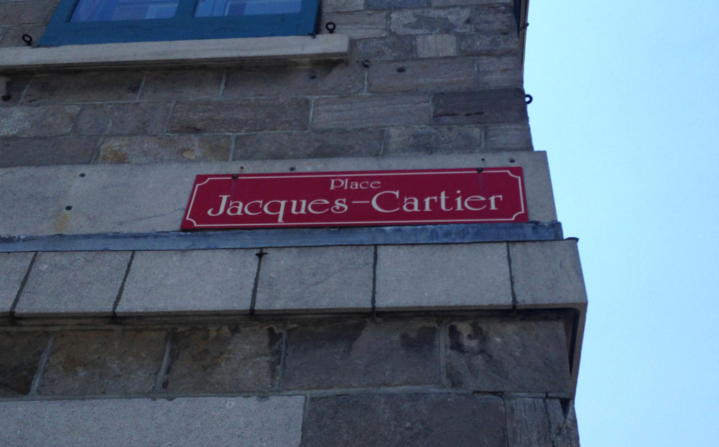 family trip to montreal- street signs