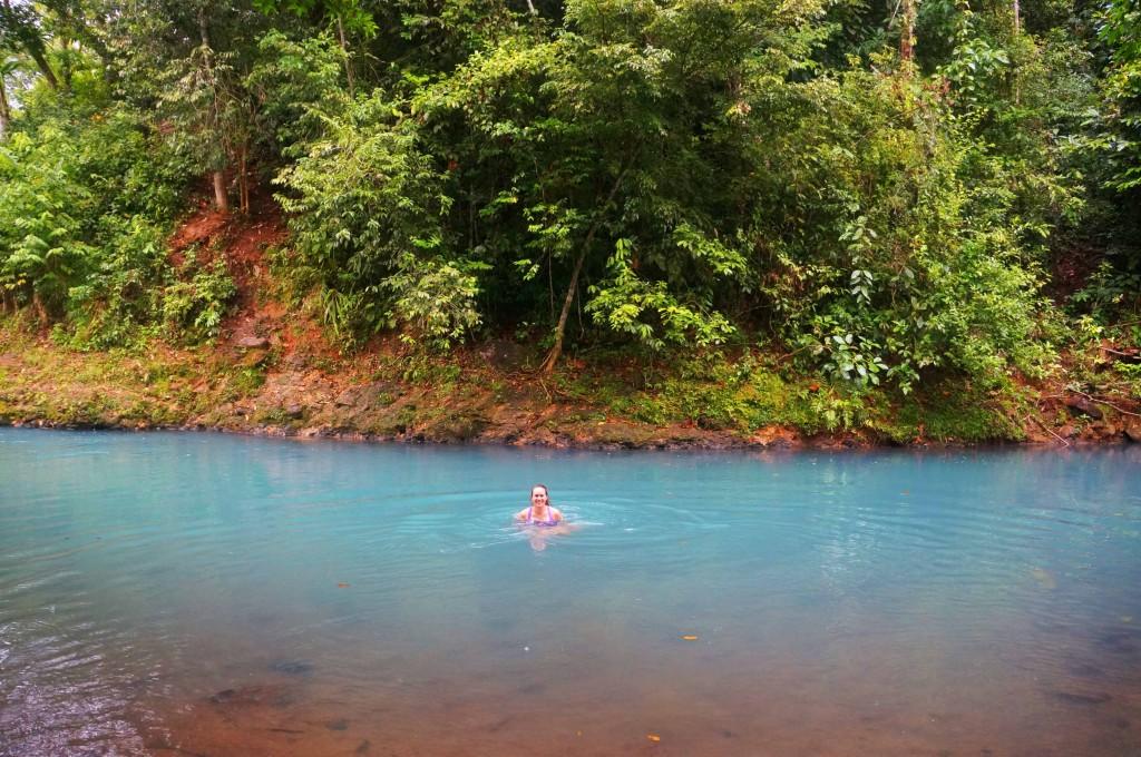 things to know before visiting rio celeste- swim in rio celeste