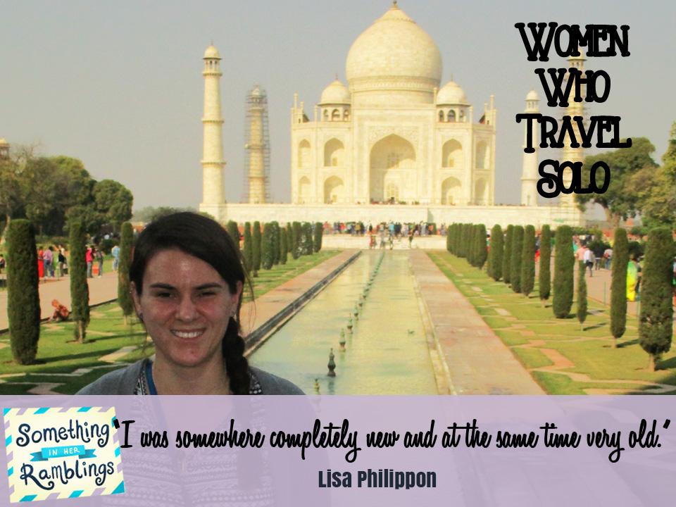 women who travel solo lisa philippon