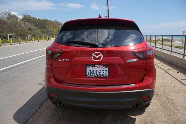 Mazda CX5 back