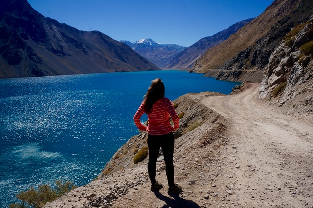 See the Andes in Chile