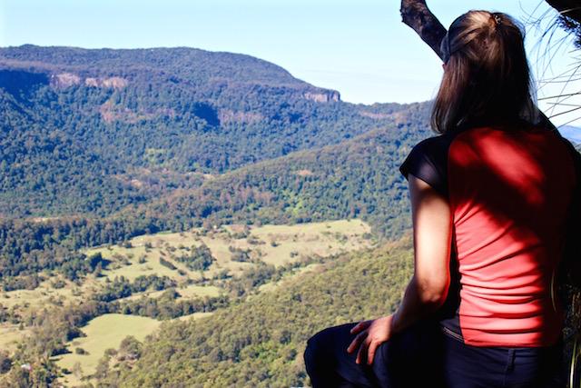 solo travel in australia views