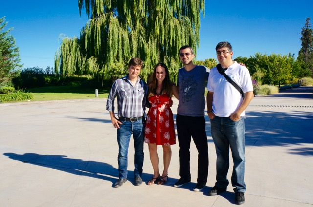 visiting the wineries of mendoza group