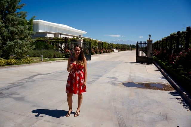 visiting the wineries of mendoza