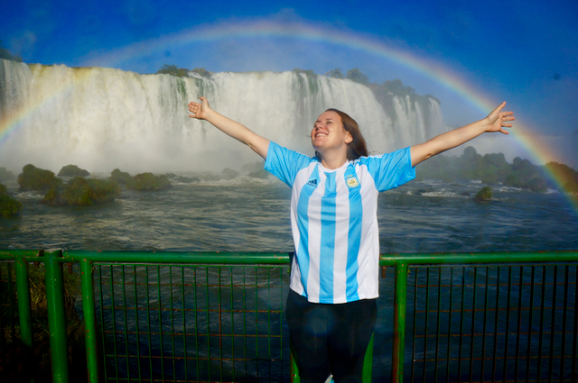 Soaking up The Glory of Nature at Iguazu Falls