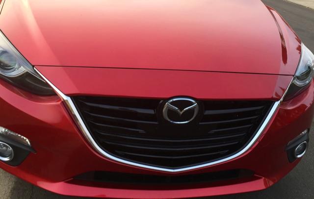Mazda3 sleek red