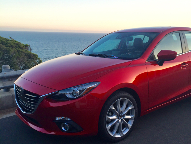Confidently Cruising: Los Angeles in the Mazda3