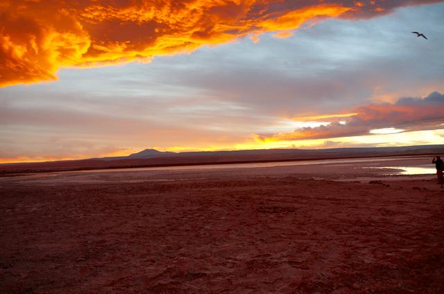 Sunset Laguna Tebinquinche