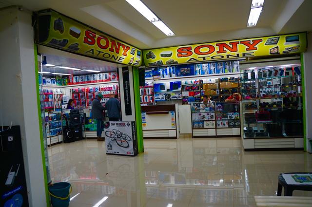 three countries in one day shops of ciudad del este
