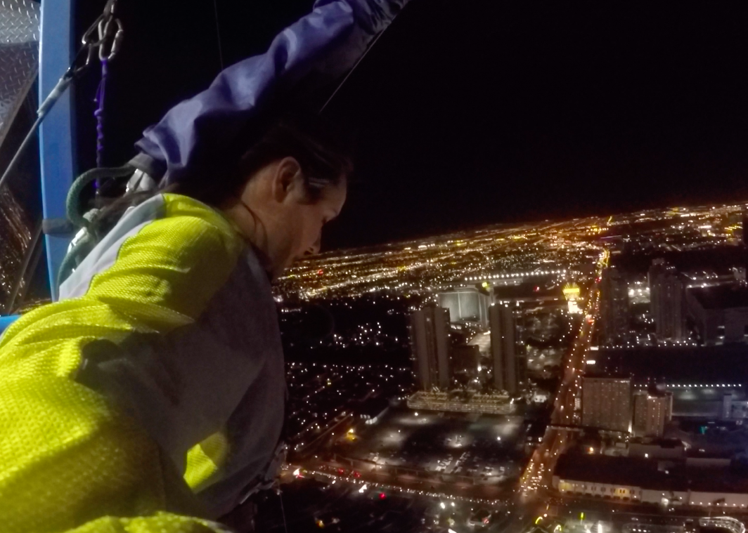 Big Thrills in Las Vegas on the Stratosphere Tower SkyJump