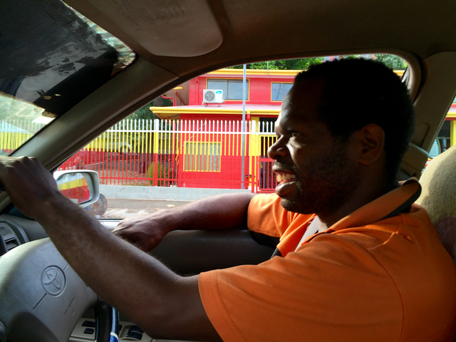 My Friend Francis, or a Tour of Port Moresby by Taxi