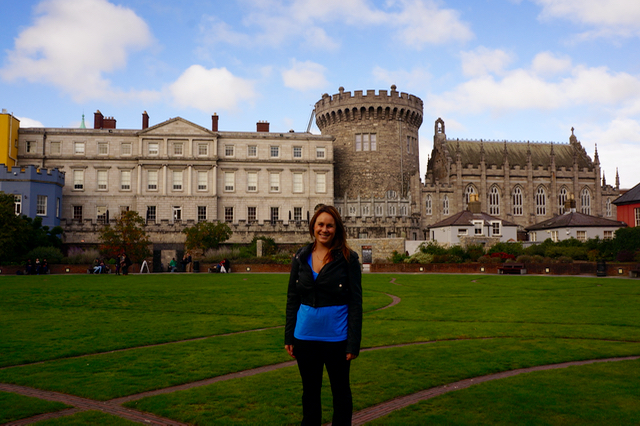 Ireland Road Trip Itinerary Dublin Castle