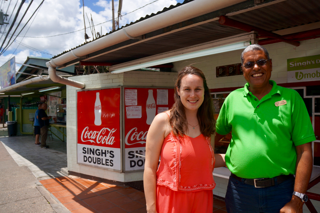 Debe doubles Indian Influences in the Caribbean