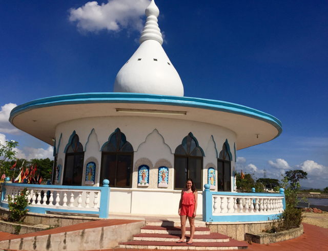 Indian Influences in the Caribbean temple in the sea trinidad and tobago