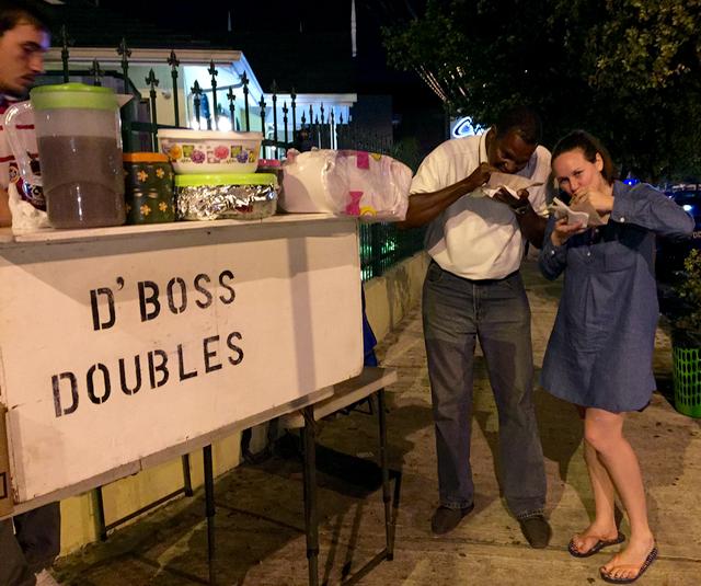 Touring Trinidad doubles