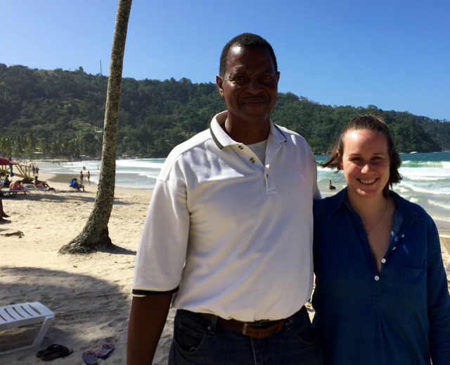 Touring Trinidad with Norm