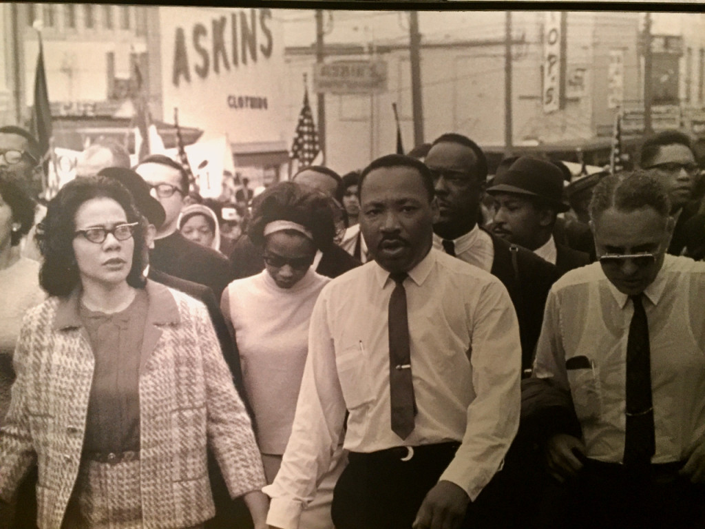MLK walking tour of african history in memphis