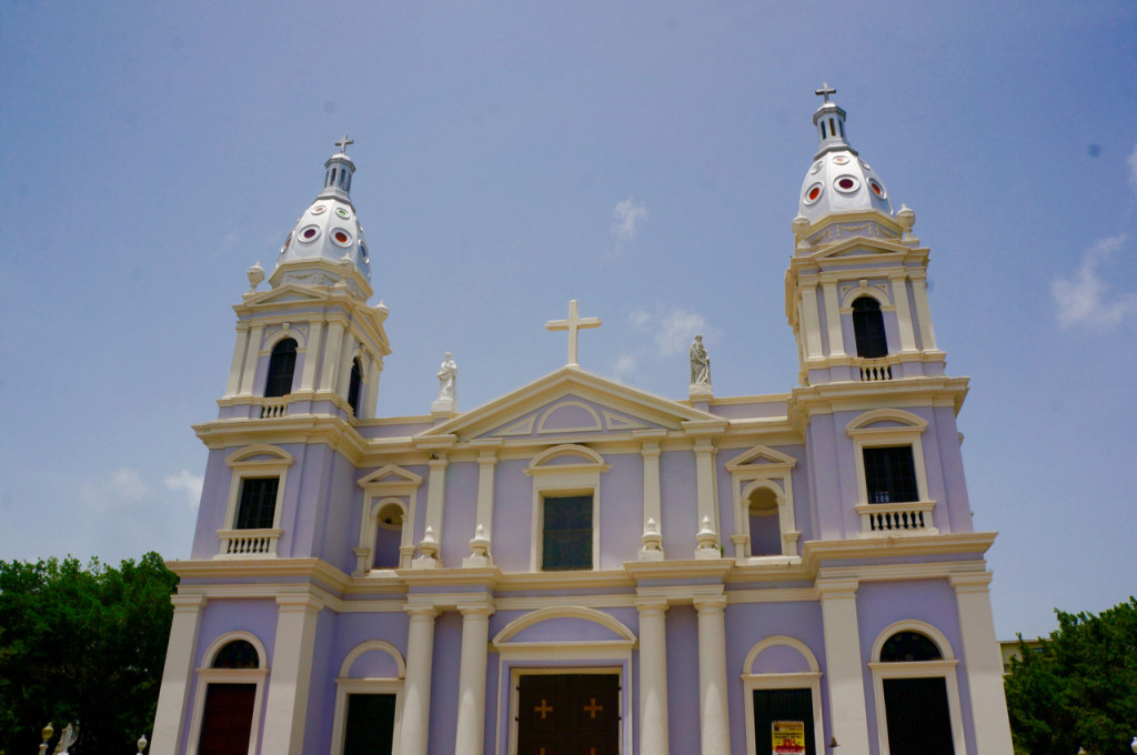 cathedral on a puerto rico road trip