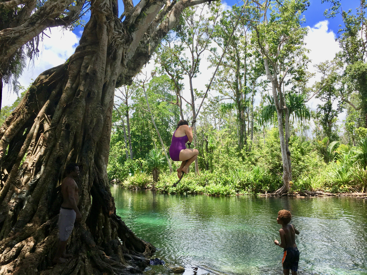 Simon, Exley and Eels: An Island Road Trip in Papua New Guinea
