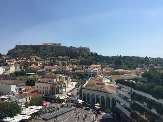 athens in a day agora