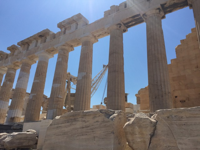 athens in a day parthenon