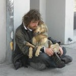 A Homeless Man and His Little Girl