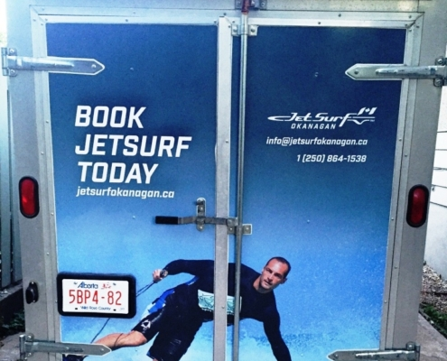 JetSurf Trailer Wrap