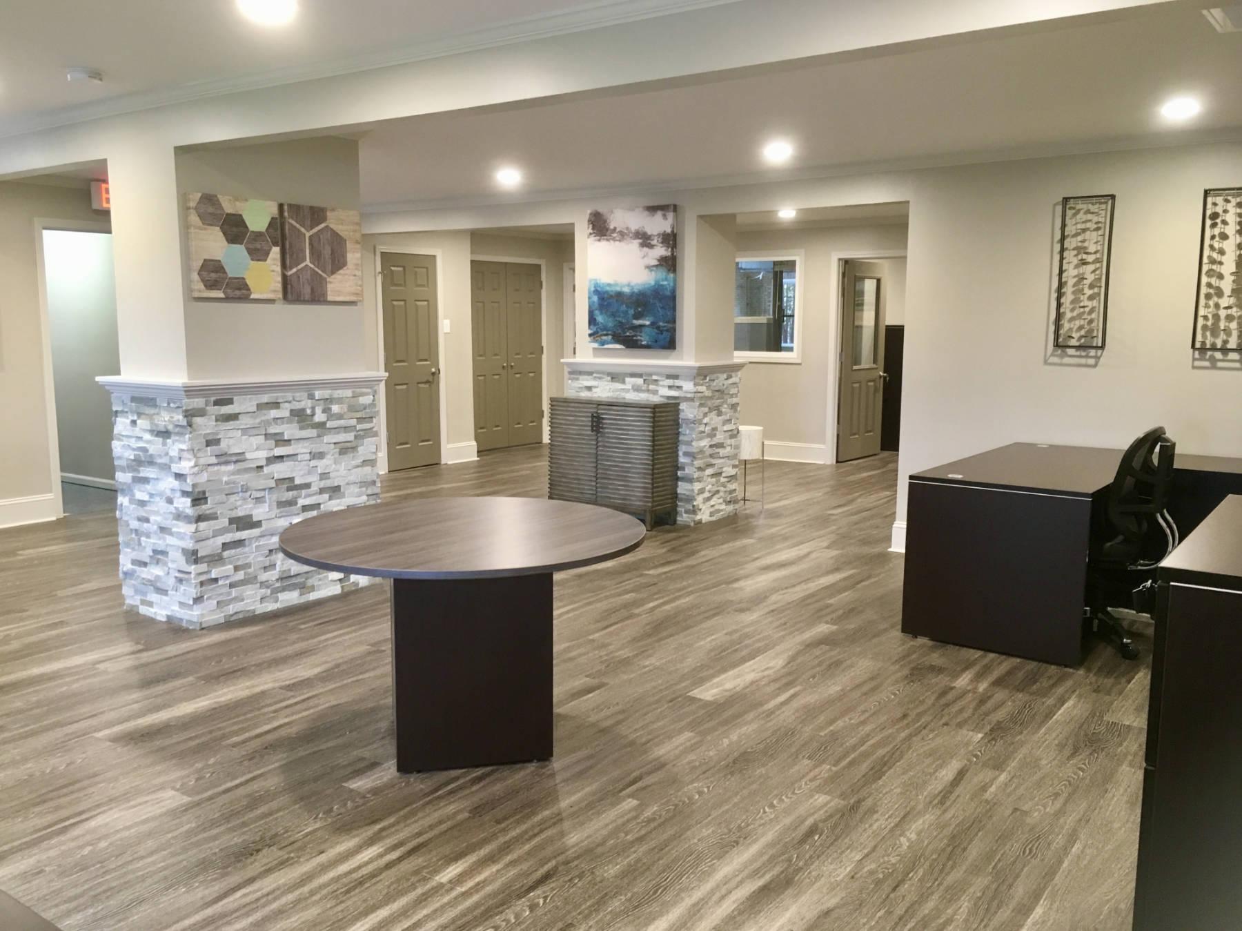 new office flooring