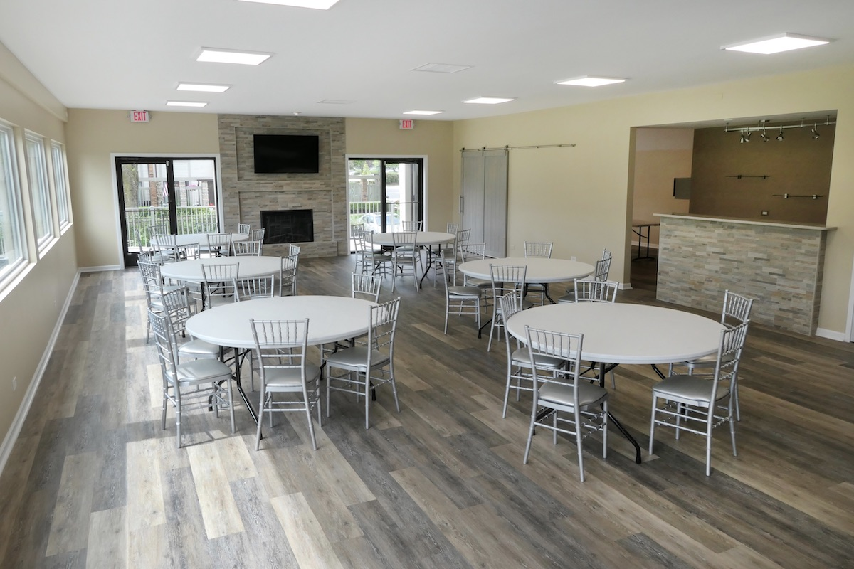 clubhouse remodel