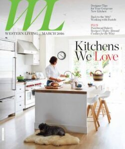 Western Living March 2016