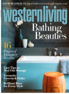Western Living May 2013