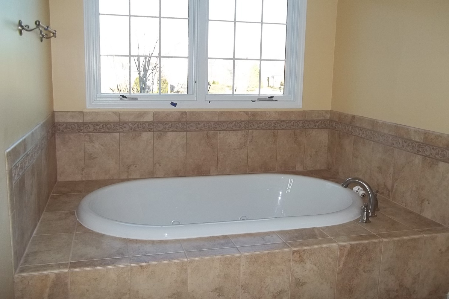 bathtub after restoration project