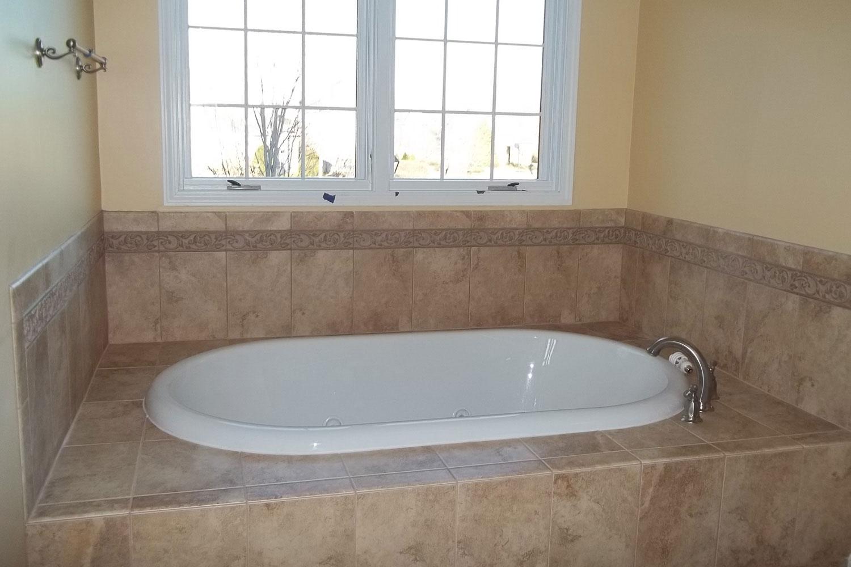 bathtub after home restoration
