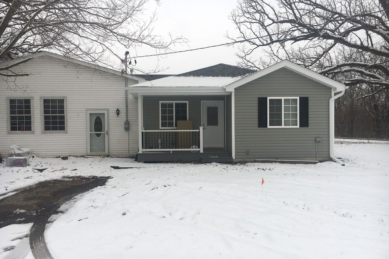 home exterior after home restoration