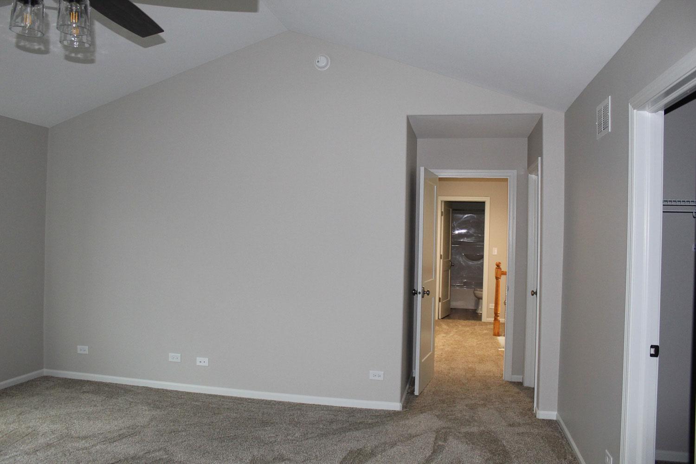 master bedroom after home restoration