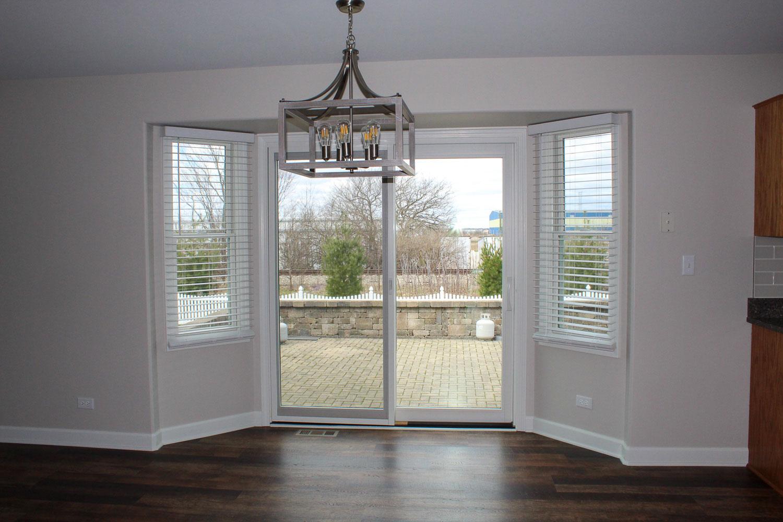 sliding doors after home restoration