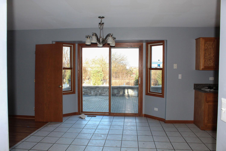 sliding doors before home restoration