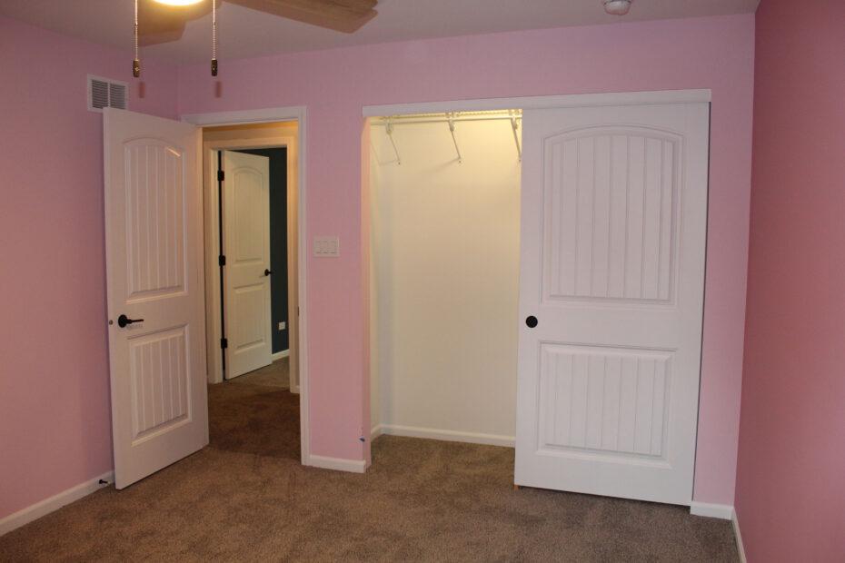 bedroom after home restoration