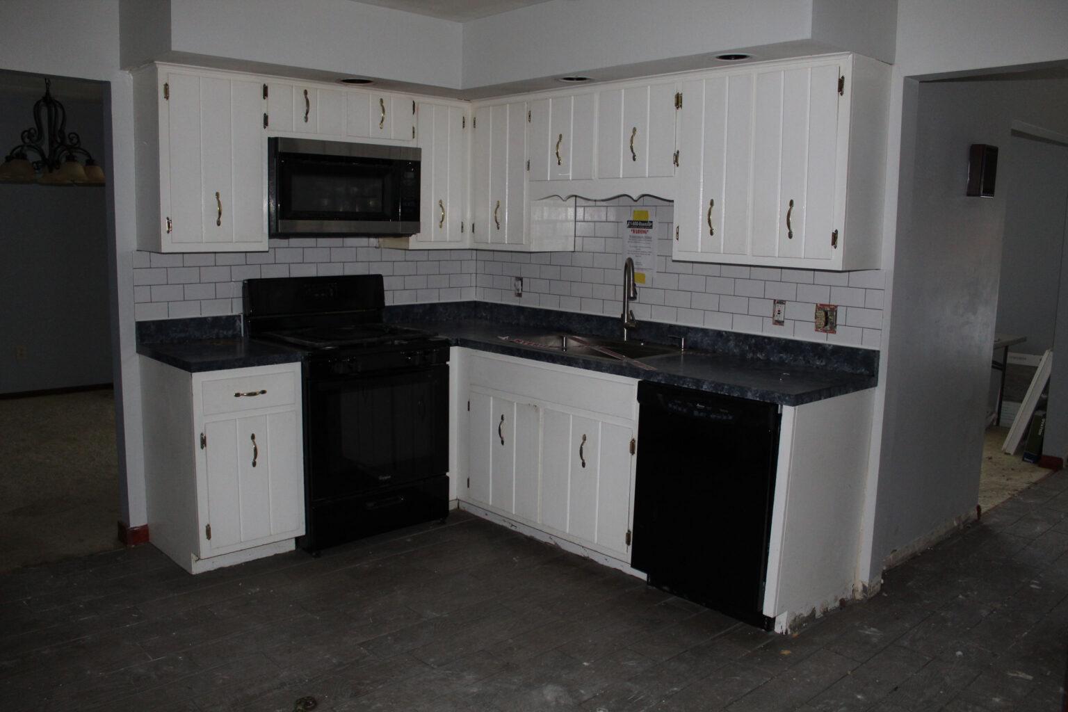 kitchen before home restoration