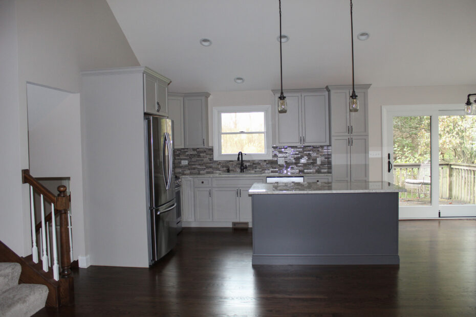 kitchen after home restoration