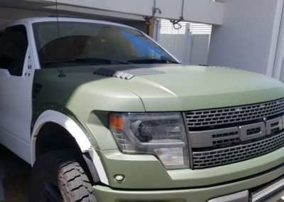 Raptor Matte Arm Green 6