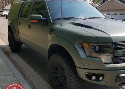 Raptor Matte Army Green 17