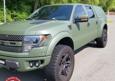 Raptor Matte Army Green 18