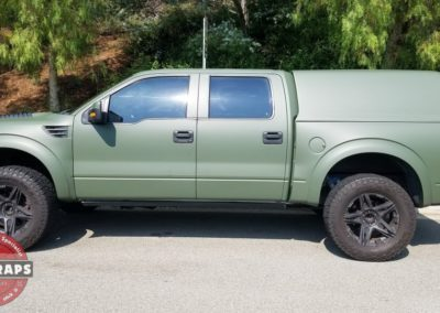 Raptor Matte Army Green 20