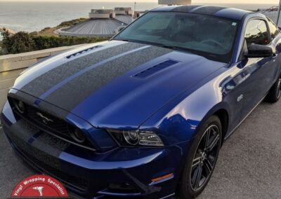 Mustang 5.0 Shadow Camo Stripes