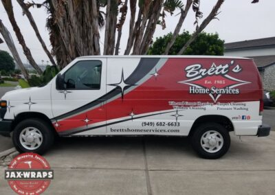 Brett's Fleet Graphics and Trailer
