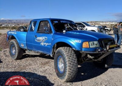 IPC 1403 Race-Truck Matte Metallic Blue