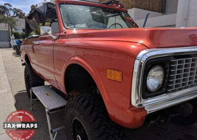 '72 Chevy Blazer Gloss Fiery Orange